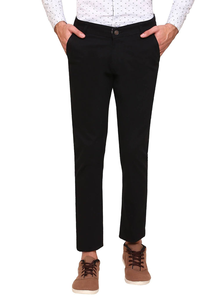 Nik 'n' Vil Men's Regular Fit Trouser