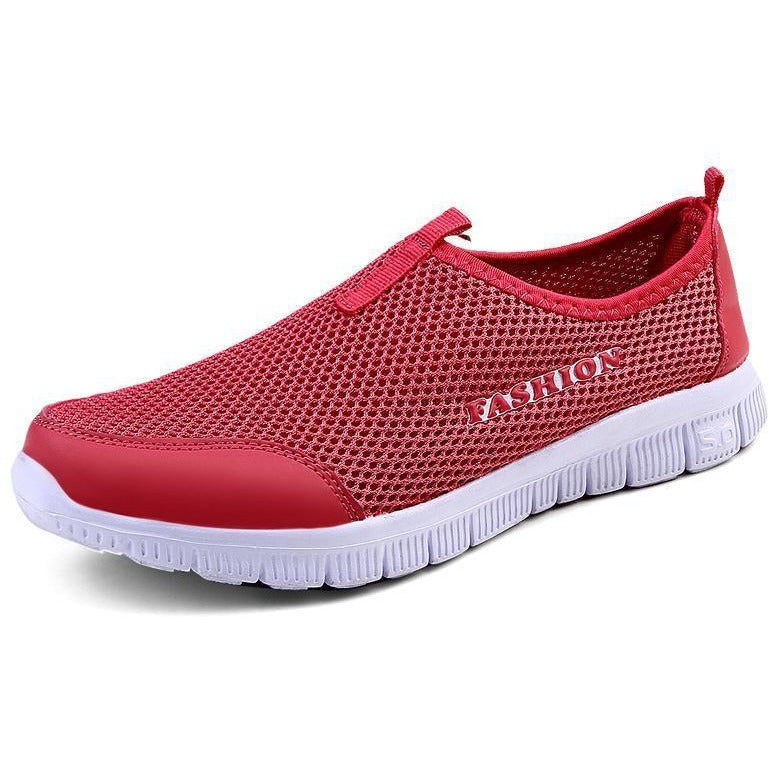 Watermelon Red ALI&BOY New Men/Women Light Mesh Running Shoes,athletic Sport Shoes Comfortable Breathable Men's Sneakers Run Shox Size 34-46