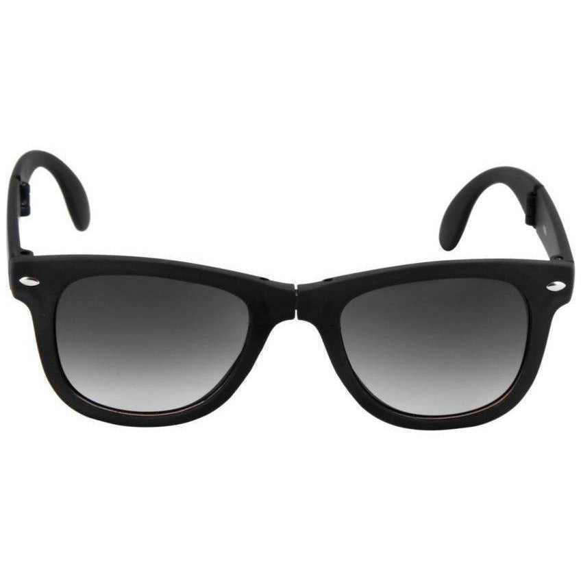 Black Wayfarer Black Sunglass By Men