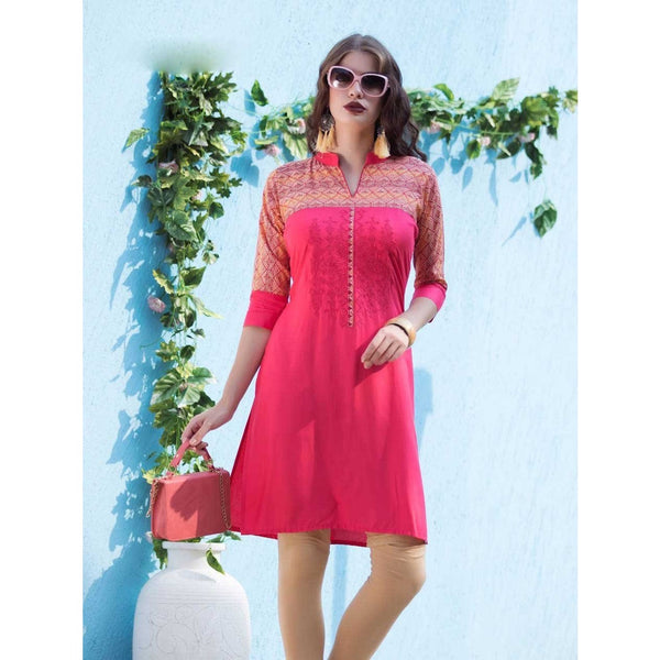 Delicate with Touch of Care And Style, Rose Pink A Cozy Summer Wear