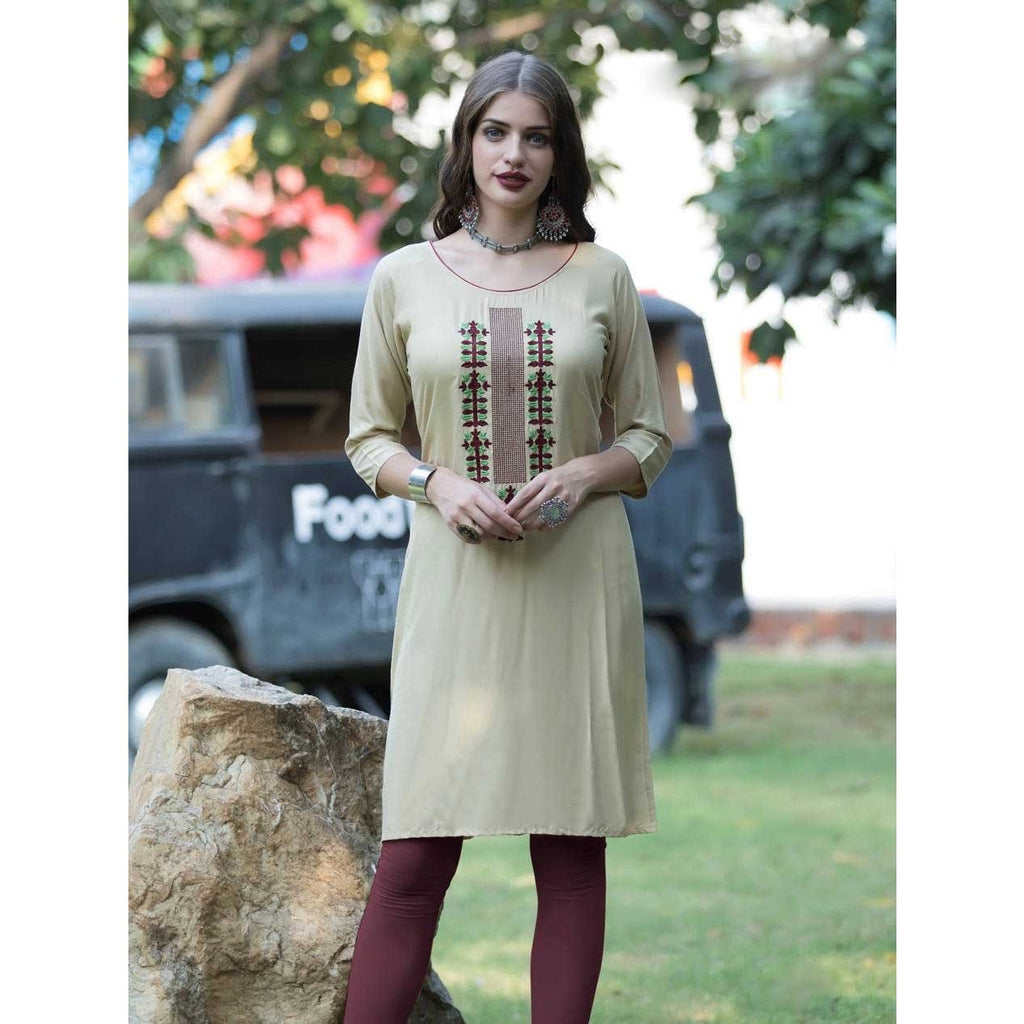Simple and Trendy, Beige Color Makes You A Cool Fashion Diva