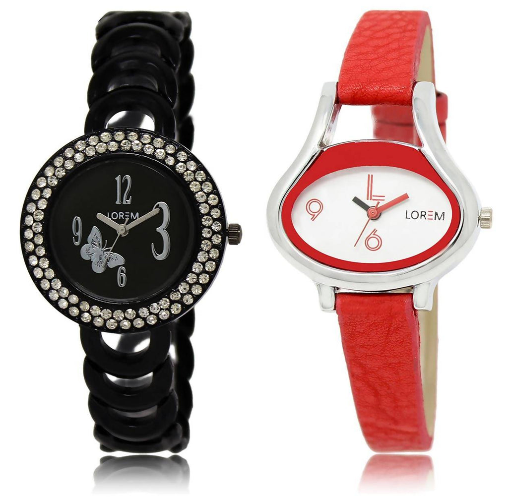 LOREM LR201-206 COMBO Watch - For Women