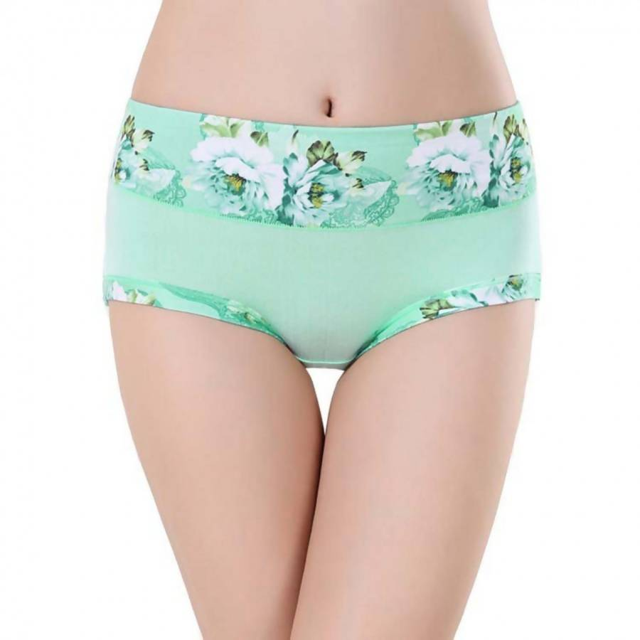 LOVEMATE BREATHABLE GREEN PANTY