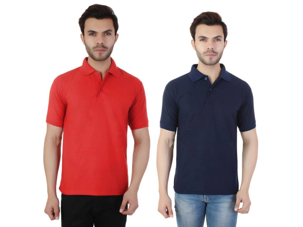 TAJ-POLO-2CM-RED-DB-M