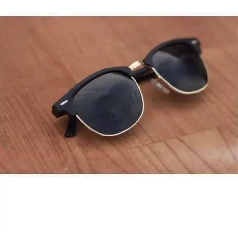 Club Master Black Sunglasses For Men