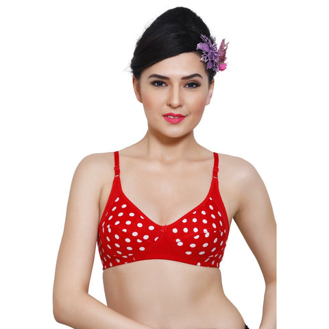 Polka Dots Everyday Bras (Pack Of 3)
