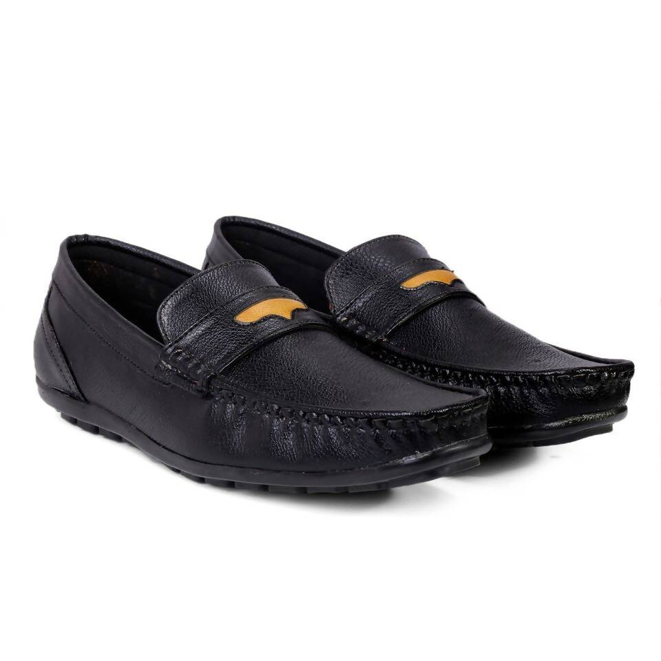 Rvy Black Men Casual Shoes Loafer