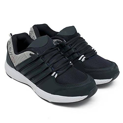 Brooke Men's Black Stylish Sports Shoes