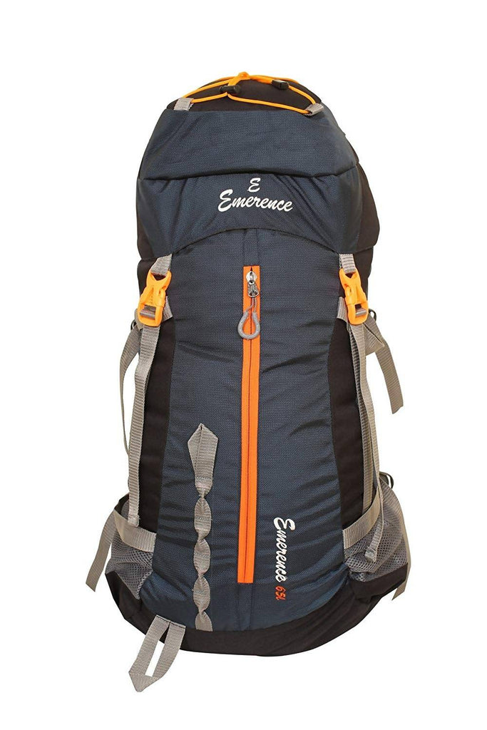 Emerence 1022 Rucksack, Hiking Backpack 65Lts (Navy Bue) With Rain Cover