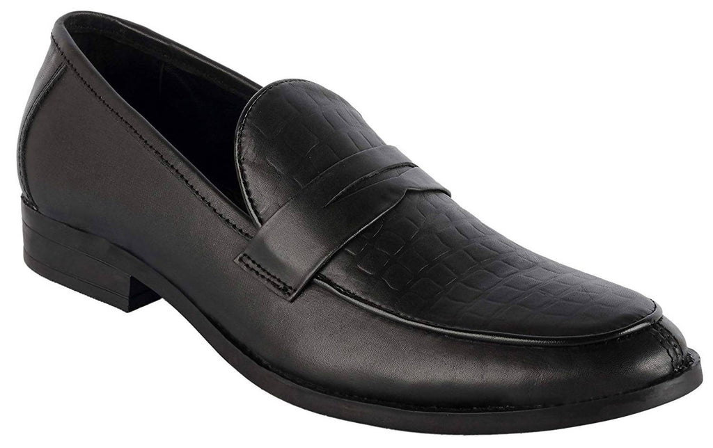 Goosebird Men's Dress Genuine Leather Loafers Slip-on Loafer Shoes Office & Collage Best Shoes