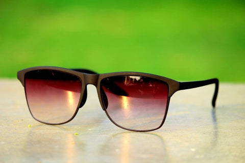 Brown Wayfarer Sunglasses For Men