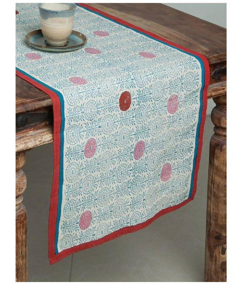 MYYRA 6 Seater Cotton Single Table Runner
