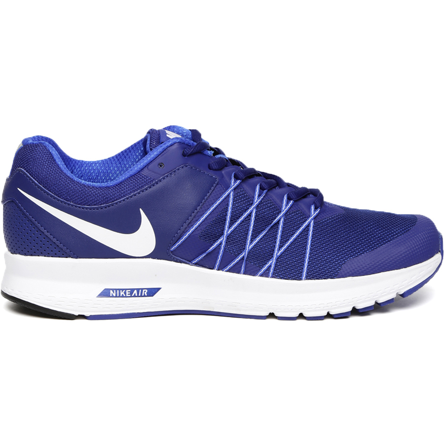 Nike Men Blue Air Relentless 6 Running Shoes