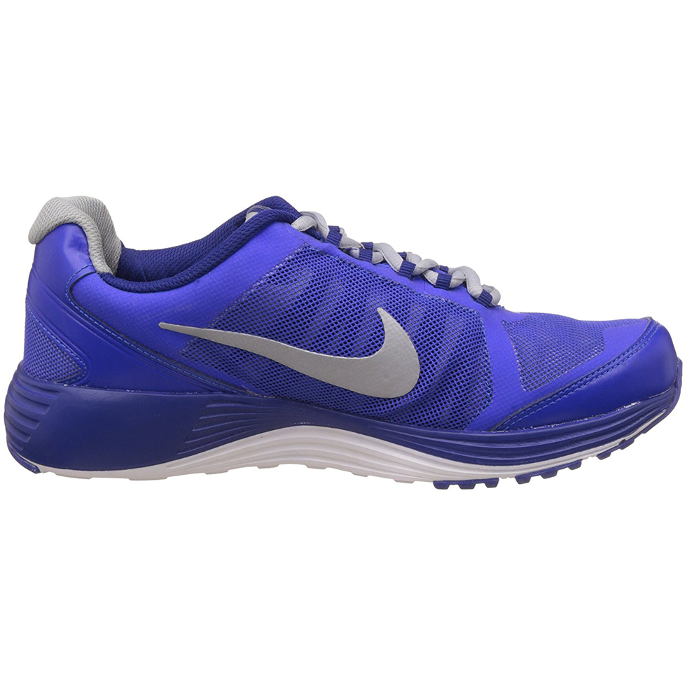 Nike Men's Revolve 2 Racer Blue, Metallic Silver, Wolf Grey, Deep Royal Blue And White Running Shoes