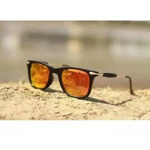 Sunglasses Golden Mercury Sqaure Goggles For Men