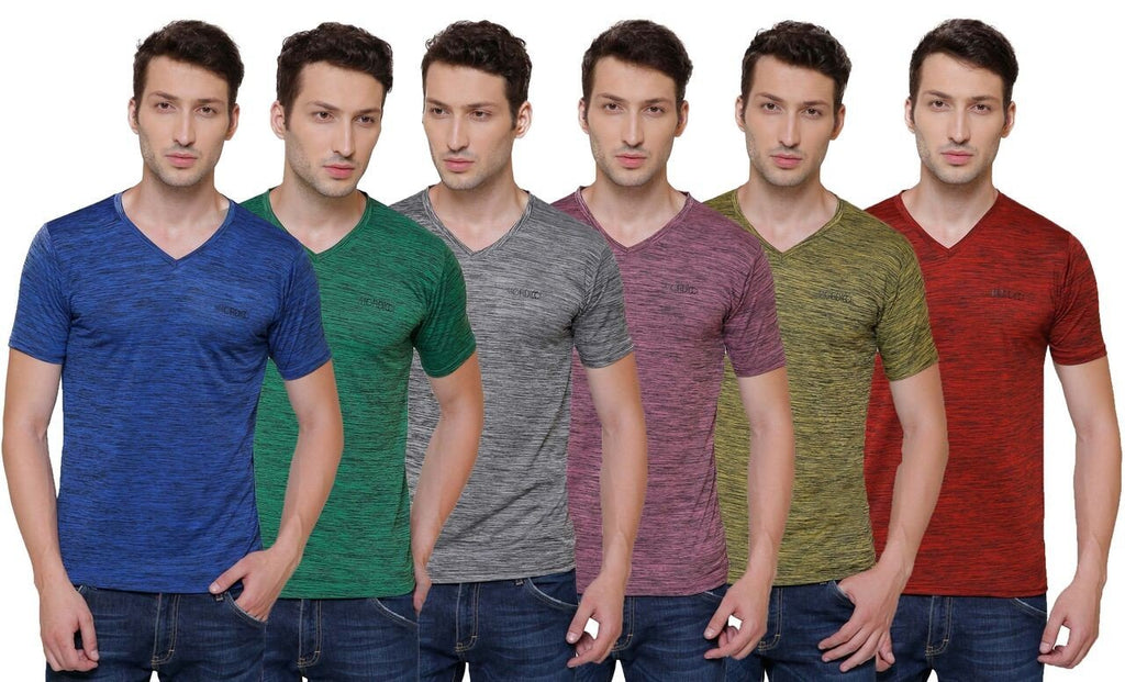 Pali Round-Neck Dry Fit T-shirt For Men