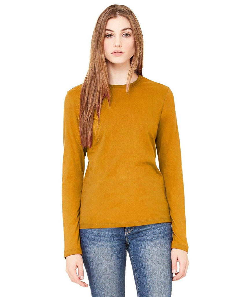Harshita Creation HC Designer Round Neck Full Sleeve Tops T-Shirt for Women Girls Party Wear Stylish T-Shirt Tops, Ladies Fancy Yellow Tops, Latest Fashion Trends Shirts, T-Shirt, Tees, Tank Tops