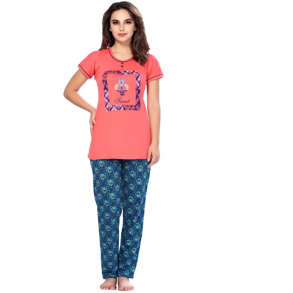 Get a Cute Geraldine look with the Perfect Set of Pyjamas- SW267NS