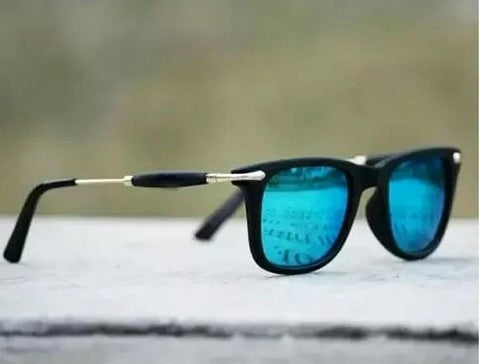 Aqua Blue Sunglasses For Men