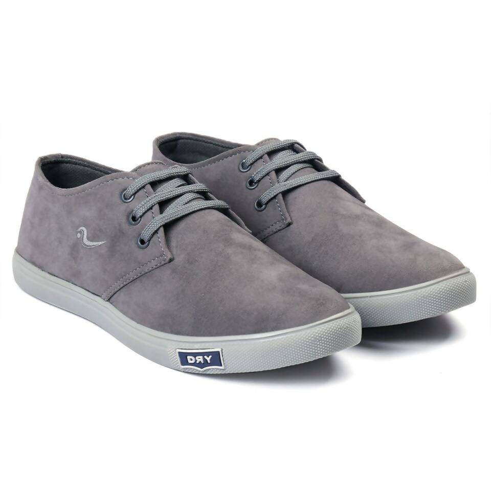 Rvy Men's Gray lace-up Smart Casual