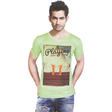 Zinio V Neck PLAYING T-Shirt