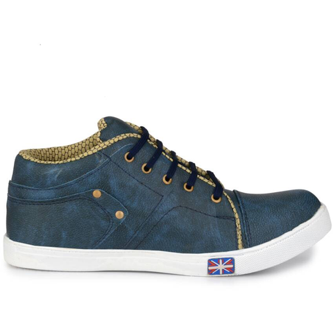 Men's Denim Canvas Shoes for Party Wear