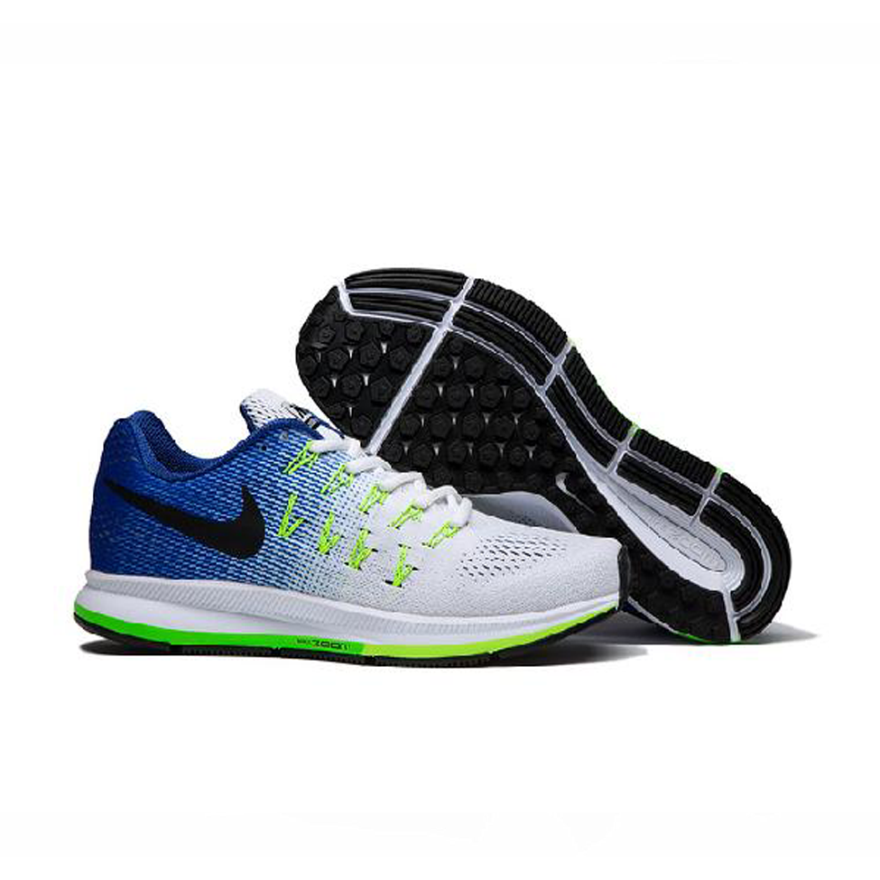 Air Zoom Pegasus 33 Blue White Black Men's Sports Shoes