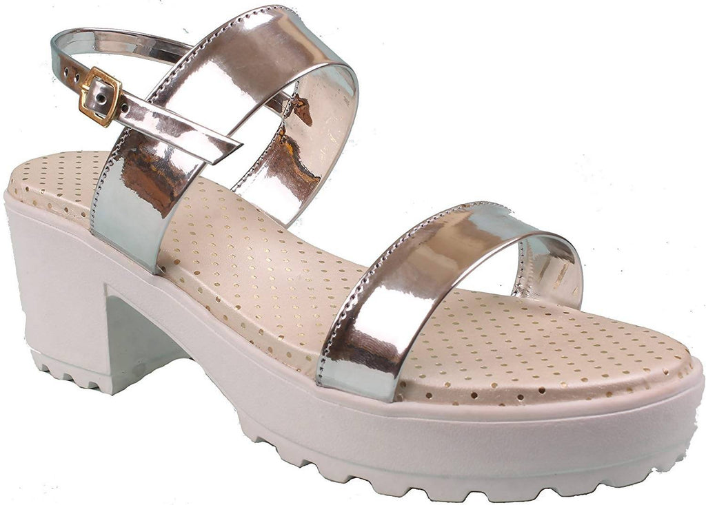 Foot Wagon Hills Women's Block Heels Sandal