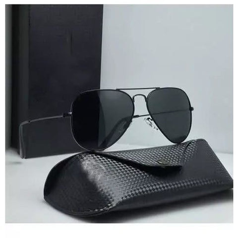 Sunglasses Black Aviator Goggles For Men