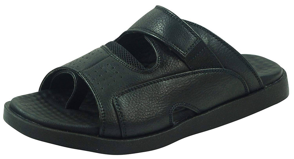 Medifeet Men's Flux-Fur Slip-on MF-61