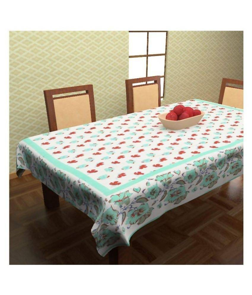 Myra Multicolor Cotton Table Cover