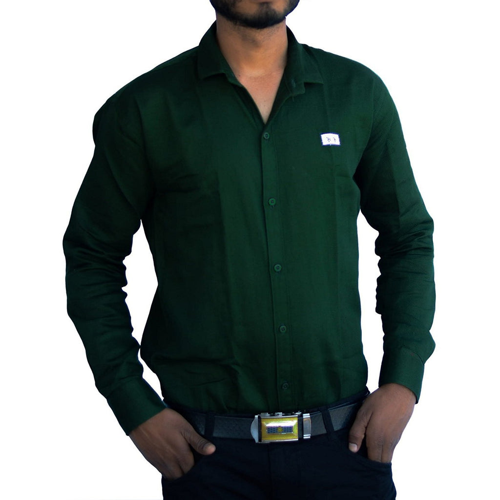 Alone Shirt for Men Green
