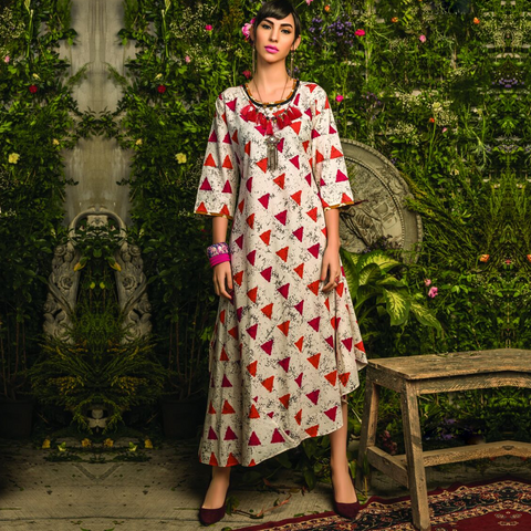 Designer Colorful Stylish Fancy Semi-ethnic Wear Rayon/ Silk Kurtis