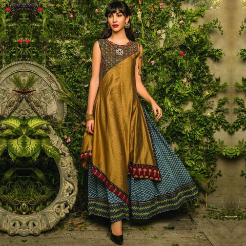 Designer  Rayon/ Silk Kurtis Fancy Party Wear & Ethnic Wear