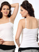 Women Stretchable Cotton Camisole with Thin Adjustable Straps-49