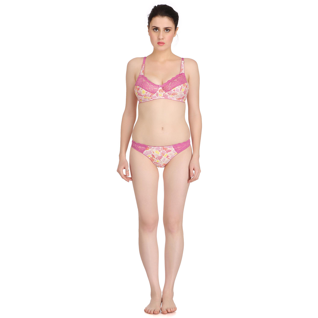 Charming and Attractive Cotton Bikini Sets for Beach Party Wear