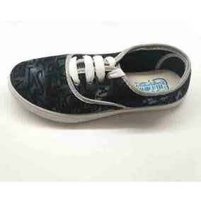 High Look Black Canvas Shoes for Ladies