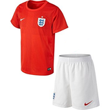 England Away Generic Football Jersey-Red With St George Cross In Slightly Darker Shade