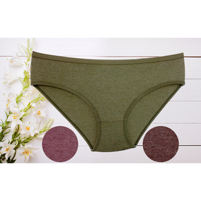 Cotton Full Coverage Hipster panties for Regular Wear