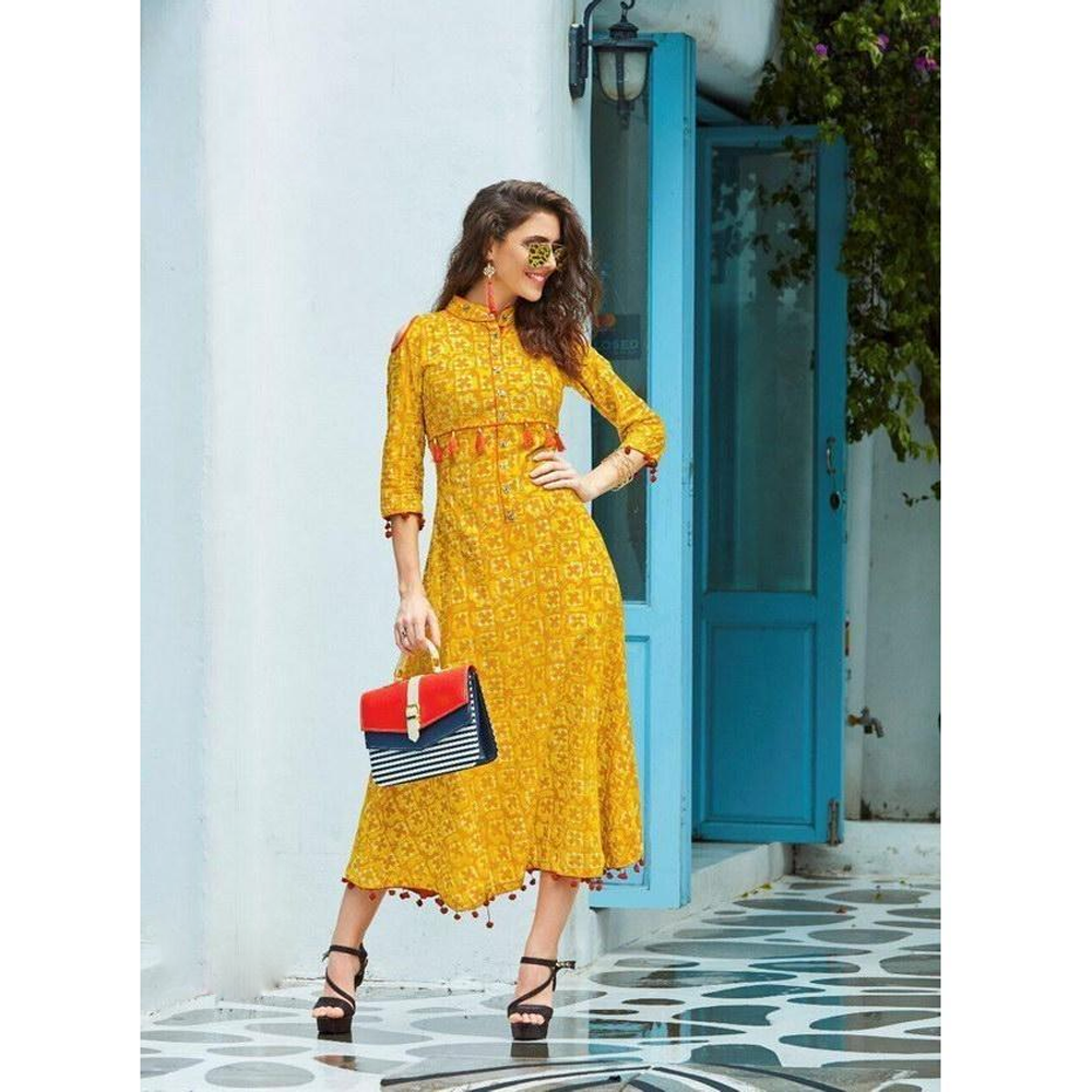 Designer Kurtis for Party Wear Fashion Monza Kurti-1006