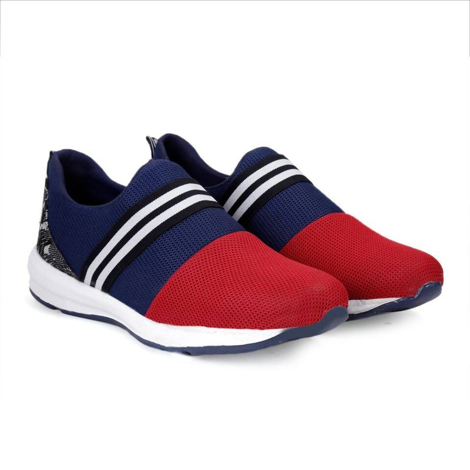 Rvy Men's Red Sports Shoes