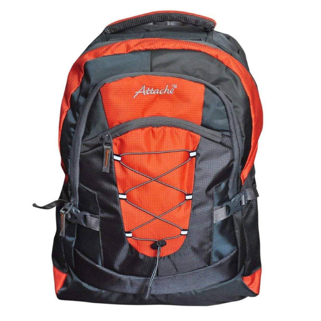 Attache Orange Polyester School Bag
