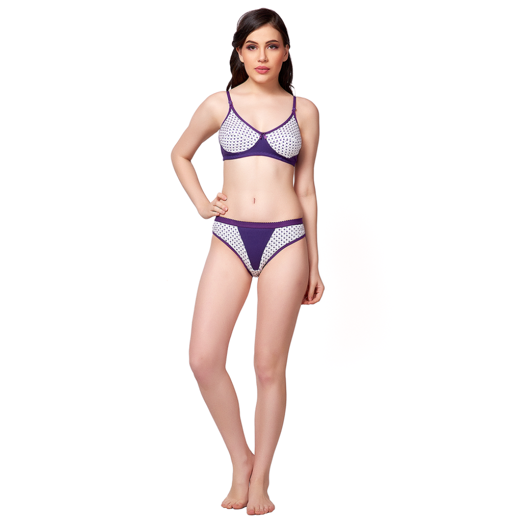 Pretty and Passionate non-padded hosiery material decent look Bikini Set-JACARTAE