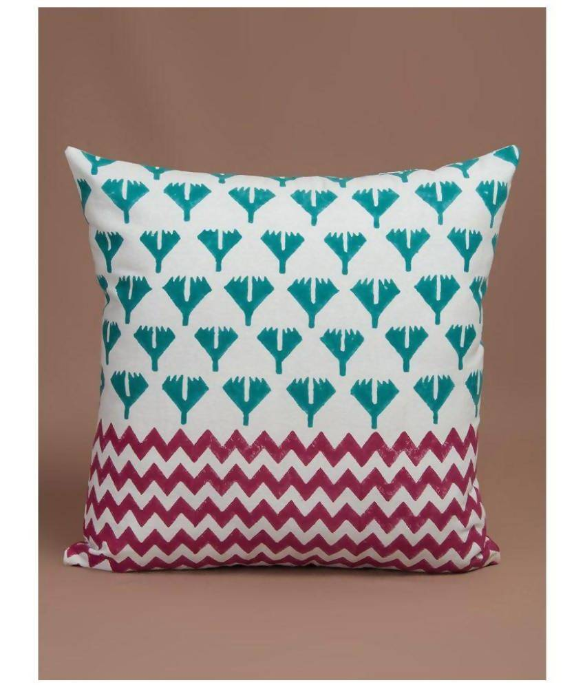MYYRA Single Cotton Cushion Covers 40X40 cm (16X16)