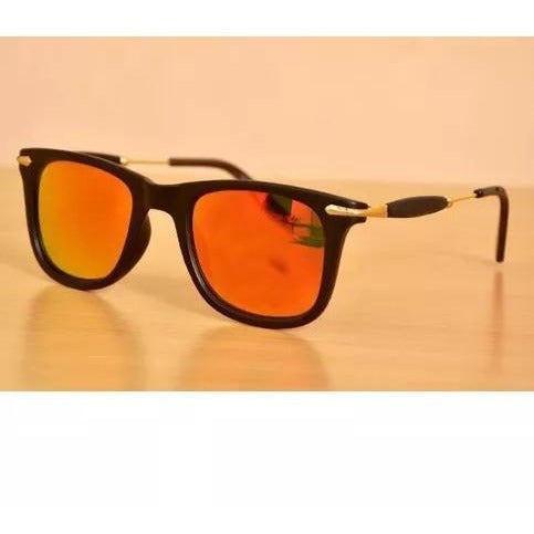 Golden Mercury Square Sunglasses For Men