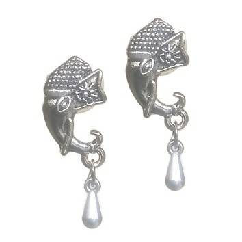 Base Metal Fashion Oxidise Earring