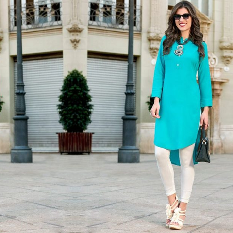 Miami 23 Beautiful Stylish Colorful Fancy Ethnic Wear & Casual Wear Rayon Kurtis
