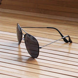 Black Sunglasses Aviator Goggles For Men