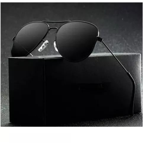 Black Aviator Sunglasses For Men
