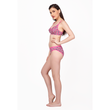 Graceful and casual wire-free two piece Bikini Set-PERSIAN PINK